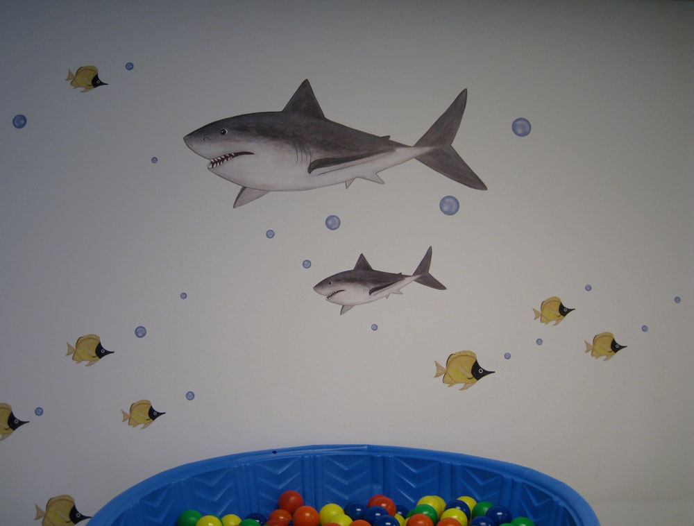 shark wall murals decals worn shark wall mural wallpaperink co uk