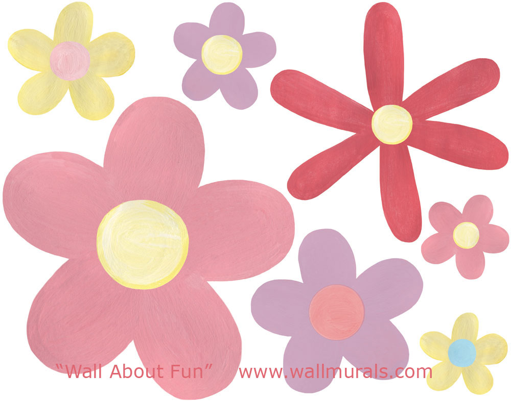 daisy wall stickers all about large daisy wall decals