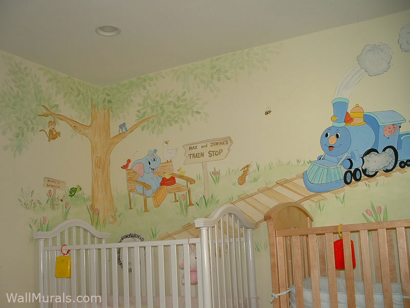 Wall Murals For Baby Rooms Http Www Wallmurals Com Portfolio Baby Rooms  Full Twins