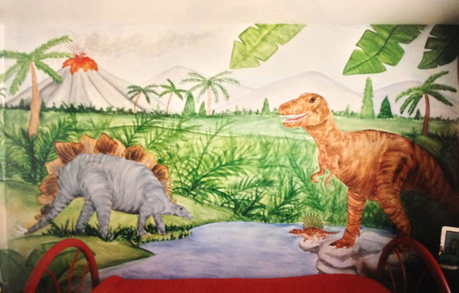 Dinosaur wallpaper mural images for Dinosaur wall mural uk