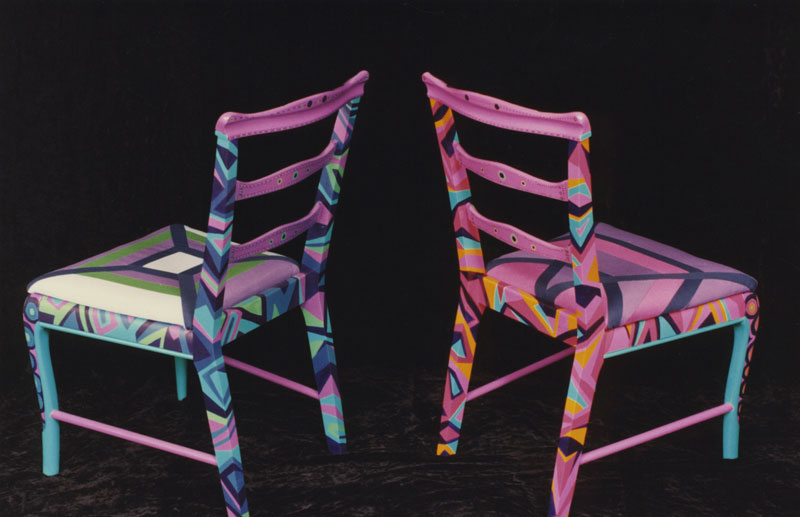 pin by susan bentson on painted chairs pinterest
