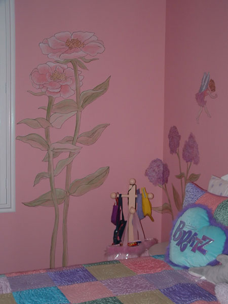 Girls Room Wall Murals By Colette Wall Murals For Girls