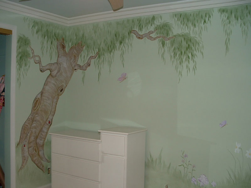 tree murals wall - photo #20