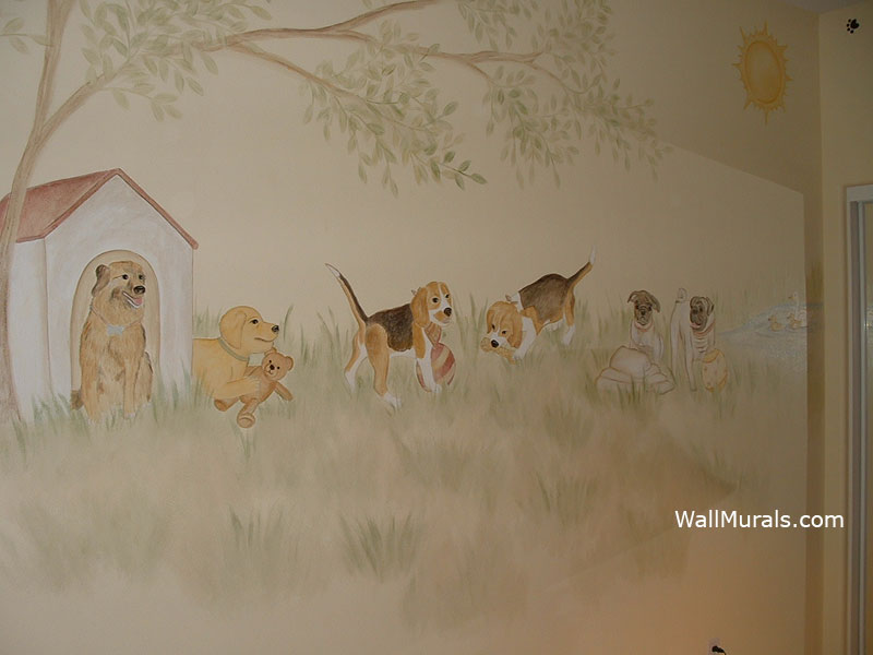 Nature Wall Murals By Colette Nature Wall Murals