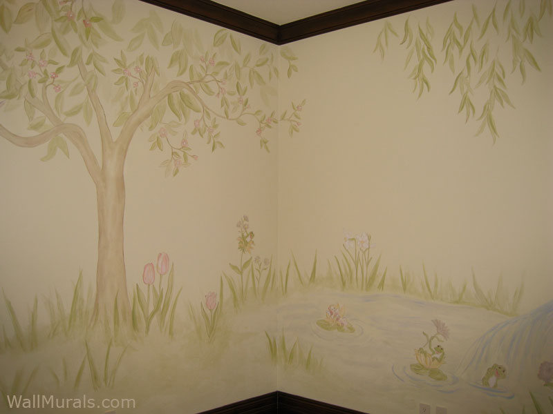 Softly Painted - Magical Tree Mural
