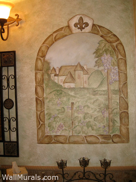wine theme wall murals by colette wine murals vineyard