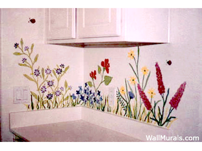 Laundry Room Wall Murals By Colette Laundry Room Murals