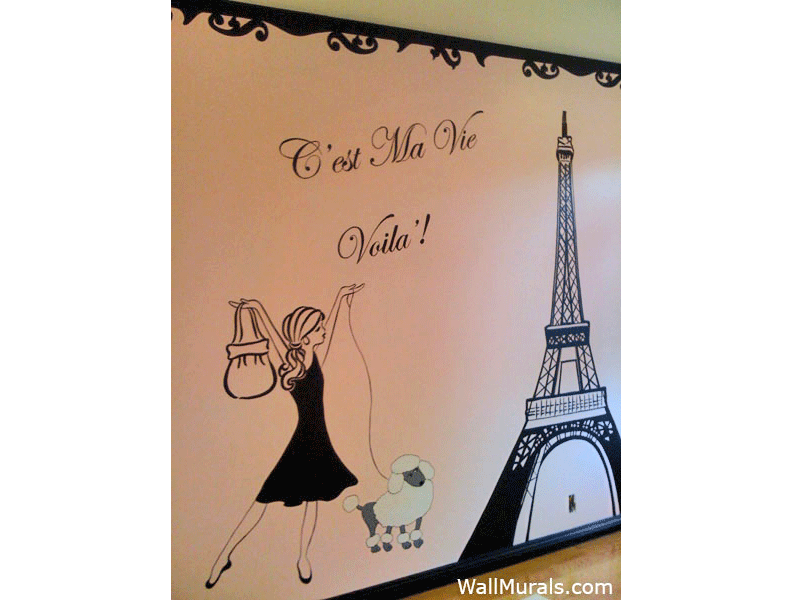 girls room wall murals by colette wall murals for girls wall murals wall decals featured