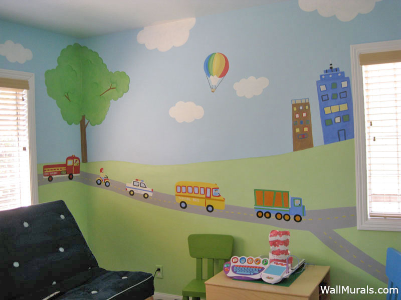 Transportation Wall Mural