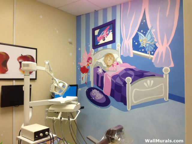 Dentist Office Wall Mural - Child Dentistry