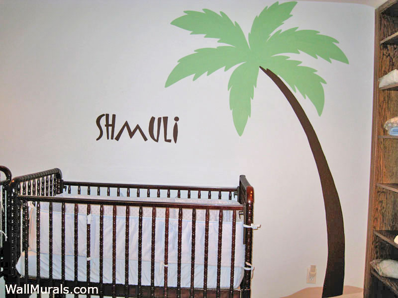 Palm Tree Mural