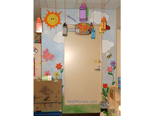 preschool wall murals daycare murals playroom mural daycare murals murals your way