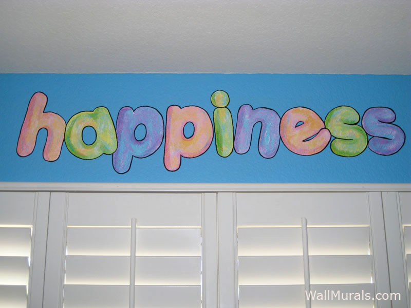 Happiness Wall Mural - Teen