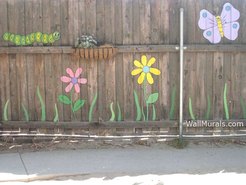 Daycare Fence Mural