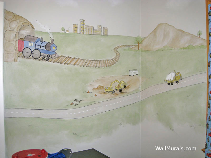 transportation wall murals exles of transportation