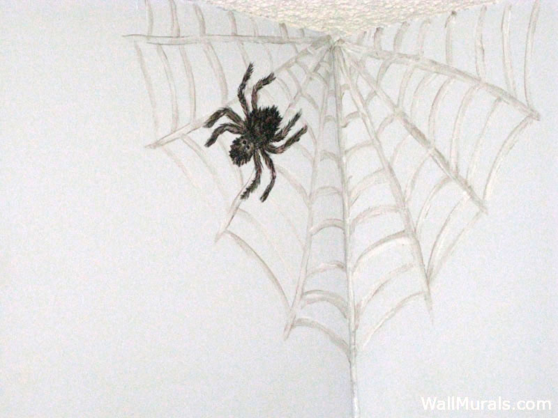 Spider Wall Mural
