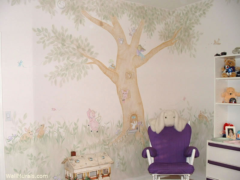 tree wall murals 50 hand painted tree wall mural exles