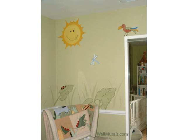 jungle wall murals examples of jungle theme murals jungle wall murals examples of jungle theme murals