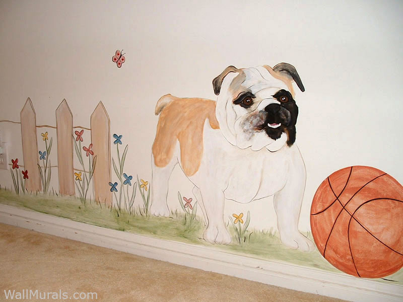 Family Dog Wall Mural
