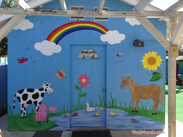 Daycare Mural - Exterior Wall