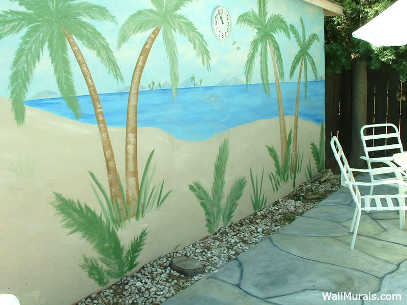 Tropical Murals Beach House Murals