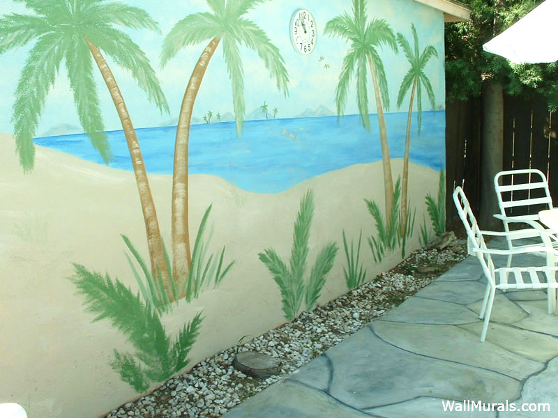 Outside wall murals outdoor mural examples for Exterior wall mural ideas