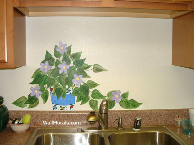 kitchen murals hand painted kitchen wall murals borders french country kitchen backsplash tiles wall murals