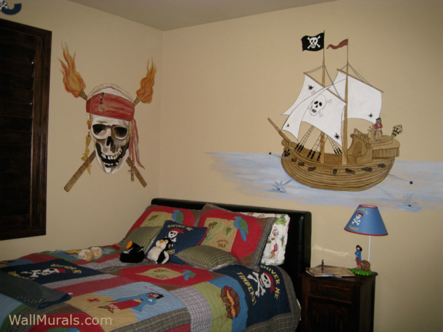pirate theme wall murals examples of pirate wall murals pirate wall mural my bedroom pinterest wall murals