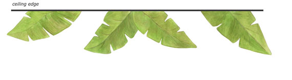 Banana Leaf Decals - Layout Sheet