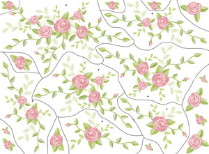 Rose Bouquet Wall Decals