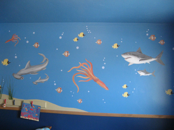Squid Decals - Installed with Shark Decals