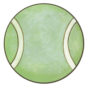 Tennis Ball Wall Decals