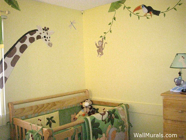 Jungle Animal Wall Mural