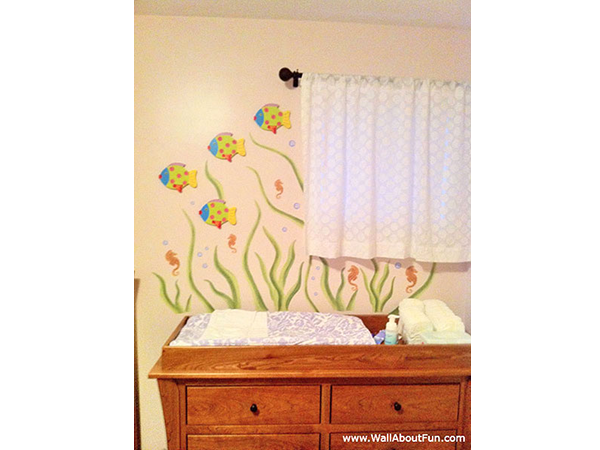 Eel Grass Wall Decals