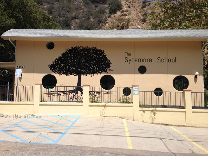Sycamote Tree Wall Mural
