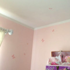 Pink Butterfly Mural