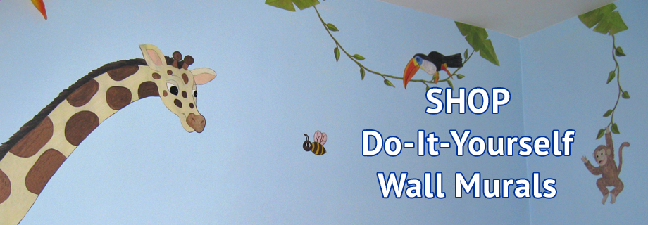 Hand painted wall murals by colette los angeles ca for Do it yourself wall mural