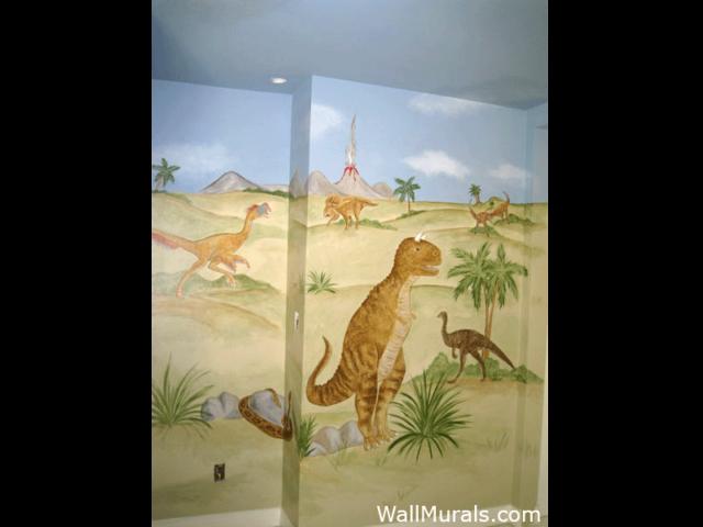 Dinosaur Wall Mural