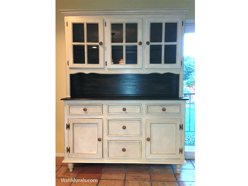 Hand-Painted Hutch