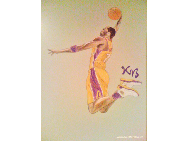 Kobe Bryant Wall Mural - Basketball