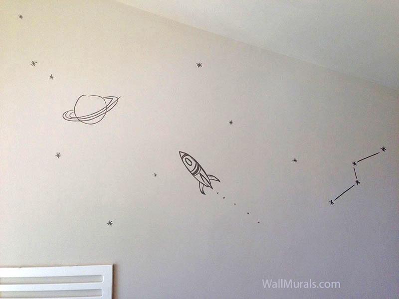 Simple Space Wall Mural