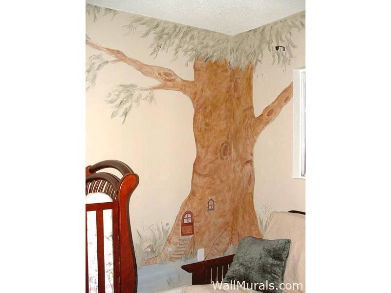 Vintage Tree Wall Mural
