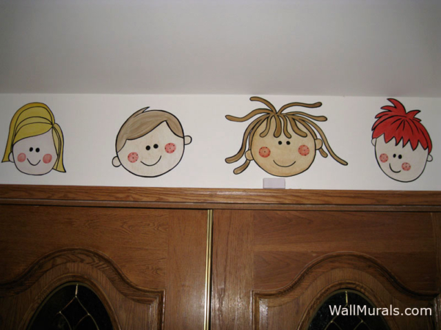 Preschool Wall Mural
