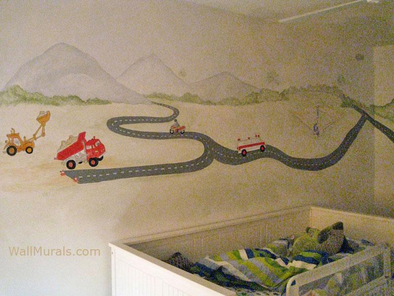 Transportation Wall Mural