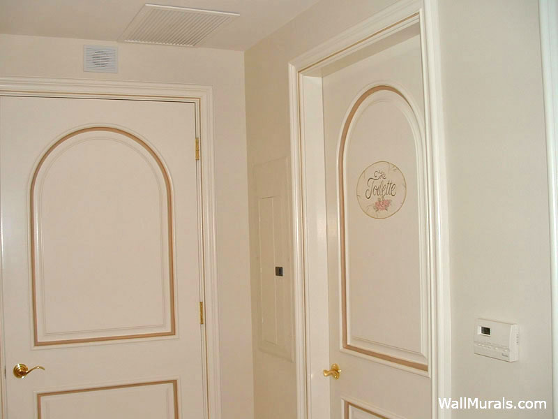 Gold Lined Doors