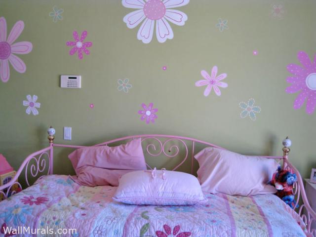 Flower Wall Mural for Teen
