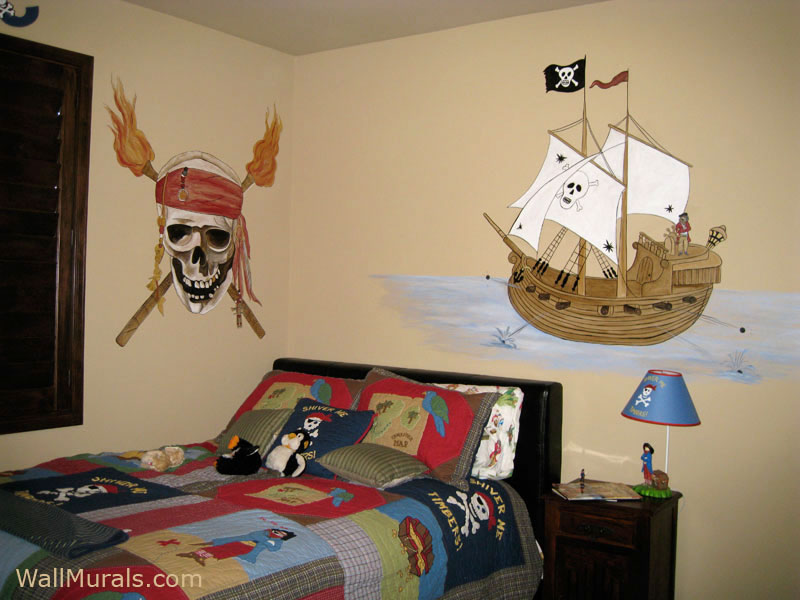 Pirate Wall Murals