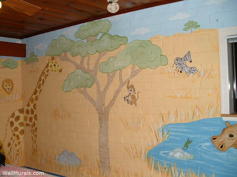 Serengeti Wall Mural