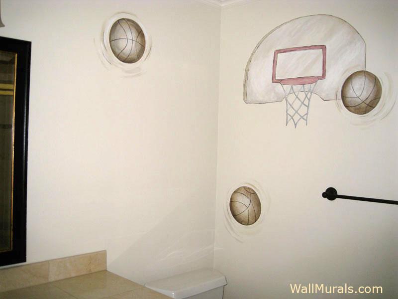 Basketball Wall Mural