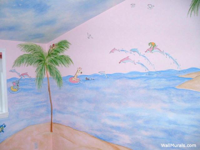 Baby Room Ocean Mural